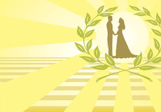 wesele ilustracyjny Zdjęcie Stock