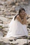 wesele na plaży Zdjęcia Royalty Free
