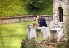 weselne młodych par obrazy stock