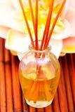Wesentliche oder aromatherapy Schmieröle lizenzfreies stockfoto