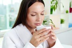 Wesentlicher Tee Lizenzfreies Stockfoto