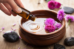Wesentliches Schmieröl für aromatherapy Lizenzfreie Stockfotografie