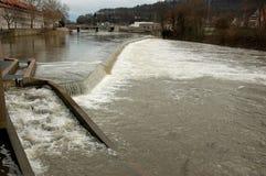 Weser River in Hamelin Stock Photos