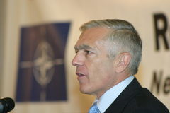 Wesley Clark Stock Photo