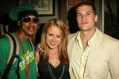 Wesley Jonathan, Allison Munn, Nick Zano Fotografia Stock