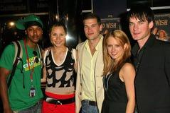 Wesley Jonathan, Amanda Bynes, Nick Zano, Allison Munn, David de Lautour Stock Image