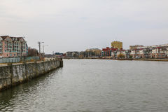 Wesley Lake. The scenic Wesley Lake in Asbury Park Stock Images