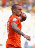 Wesley Sneijder Coupe du monde 2014 Royalty Free Stock Photo