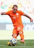 Wesley Sneijder  Coupe du monde 2014 Stock Photo