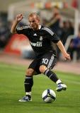 Wesley Sneijder di Real Madrid Fotografie Stock Libere da Diritti