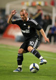 Wesley Sneijder of Real Madrid Royalty Free Stock Photos