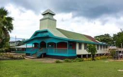 Wesleyan Zlany kościół przy Gizo obrazy stock