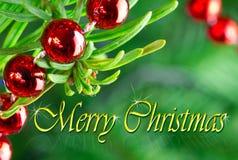 Wesoło Boże Narodzenia Fotografia Stock