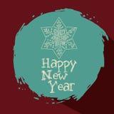 Wesoło boże narodzenia i Szczęśliwy nowego roku projekt Zdjęcie Stock