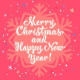Wesoło boże narodzenia i Szczęśliwy nowy rok Obrazy Royalty Free