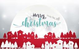 Wesoło boże narodzenia i Szczęśliwy nowy rok Wesoło Bożych Narodzeń target682_1_ Zdjęcie Stock
