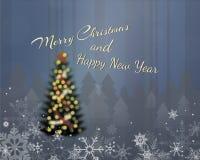 Wesoło boże narodzenia & Szczęśliwy nowy rok Ilustracji
