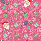 wesoło Boże Narodzenie wzór Obraz Stock