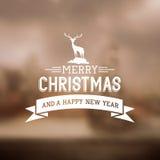 wesoło Boże Narodzenie znak ilustracji