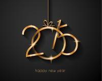 2015 Wesoło bożych narodzeń i Szczęśliwej nowy rok ulotka Fotografia Stock