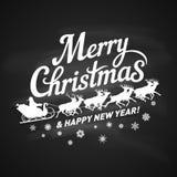 Wesoło Bożych Narodzeń ikona Zdjęcie Royalty Free