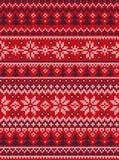 Wesoło bożych narodzeń nowego roku kartka z pozdrowieniami ramy scandinavian Szczęśliwi ornamenty ilustracji