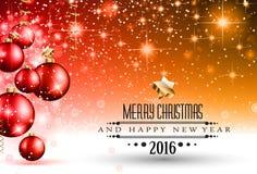 Wesoło bożych narodzeń Sezonowy tło dla twój kartka z pozdrowieniami, ilustracja wektor