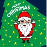 Wesoło Bożych Narodzeń wektorowa Ilustracja ilustracja wektor