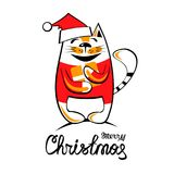 Wesoło christmas-20 royalty ilustracja