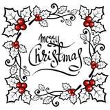Wesoło christmas-14 ilustracja wektor