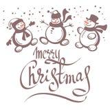 Wesoło christmas-09 ilustracja wektor