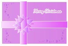 Wesoło kartka bożonarodzeniowa Fotografia Royalty Free