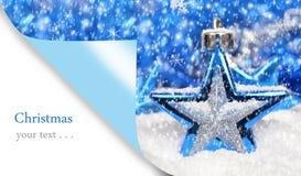 Wesoło kartka bożonarodzeniowa Obrazy Stock