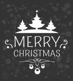 Wesoło kartka bożonarodzeniowa obrazy royalty free