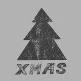 Wesoło kartka bożonarodzeniowa również zwrócić corel ilustracji wektora Obrazy Royalty Free