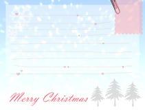 Wesoło kartki bożonarodzeniowa Obraz Stock