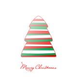 wesołych świąteczną kartkę Zdjęcie Stock
