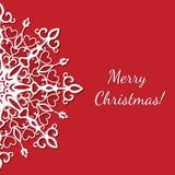 wesołych świąteczną kartkę Obraz Stock