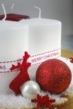 wesołych dekoracji świątecznej Fotografia Royalty Free