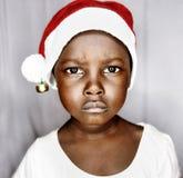 Weso?o bo?e narodzenia w Uganda zdjęcia stock