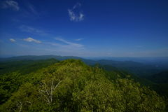 Wesser Bald. On the Appalachian Trail Royalty Free Stock Photo