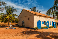 West Africa Gambia Jufureh - museum of slavery royalty free stock photo