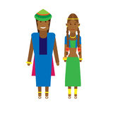 West africa national dress Royalty Free Stock Photo