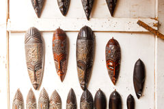 West African Art Display Stock Image