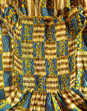 West African Dress Stock Photo