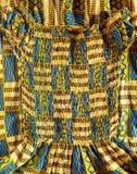 West African Dress. Close up of a dress handmade in Ghana Stock Photo