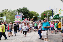 West Allis, WI State Fair 2013 stock photo