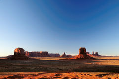 West American landscape Royalty Free Stock Photos