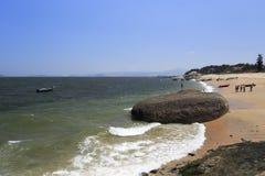 West amoy island coast. Beach of the west sea of amoy city, china Stock Photography
