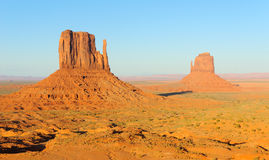 Free West And East Mitten Buttes Royalty Free Stock Image - 21943066